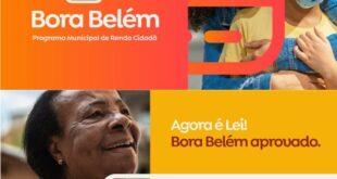 Bora Belém Programa Social Ajuda Emergencial