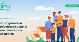 IPTU Social Prefeitura de Goiânia GO