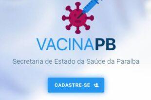 Vacina PB Cadastro Vacinação Na Paraíba
