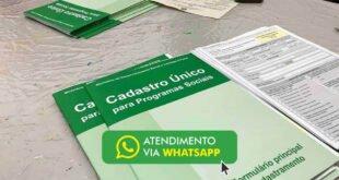 CadÚnico Pelo WhatsApp