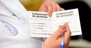 Comprovante de Vacinação